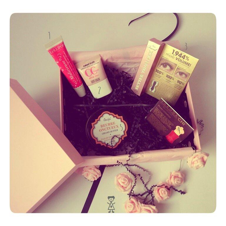 Glossy box_Janvier 2015