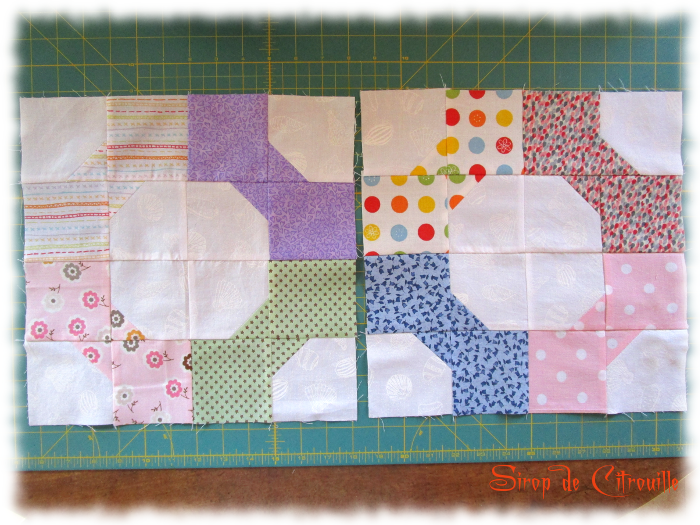 Quilting Bee octobre blocs