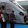Régiolis et musiciens, Bordeaux St Jean