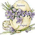 Très heures fêtes de pâques, à vous toutes. bises
