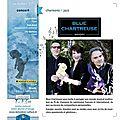 Blue chartreuse en concert le 6 octobre
