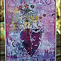 Une carte de st valentin / a valentine card - dt crafty individuals + challenges