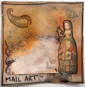 Atelier à Scrap RDV avec le Mail Art Août 2012-1 (pour Marjo)