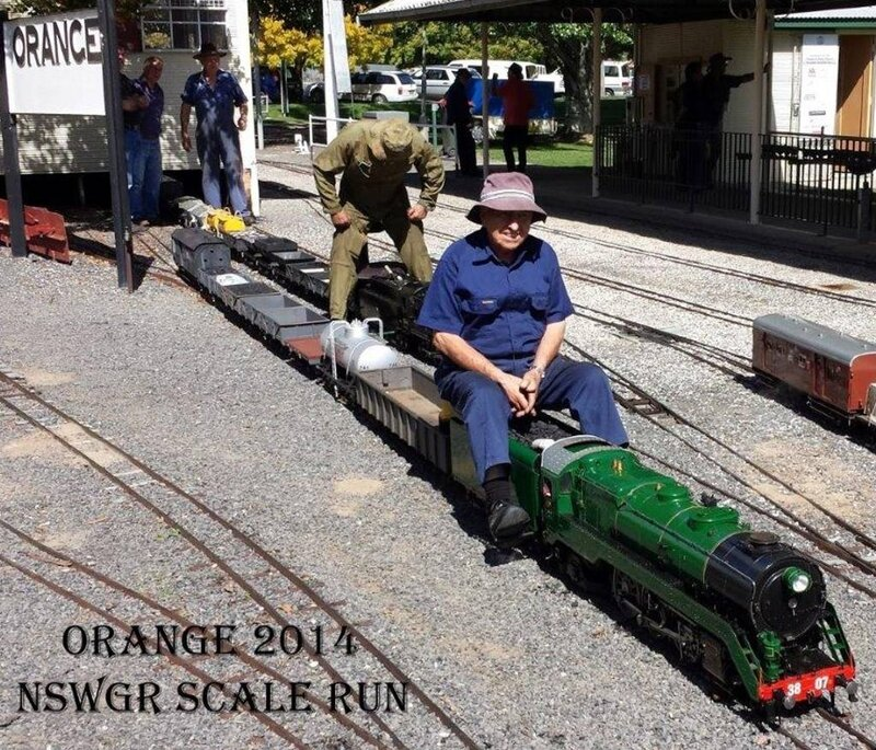 0111 Australie Orange NSW Miniature Railway Matthews Park 2014 B-P