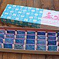 1 boîte de tampons daniel & valérie