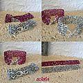 Bracelet cristal facettes de boheme