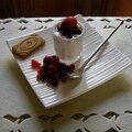 Mascarpone et fruits rouges