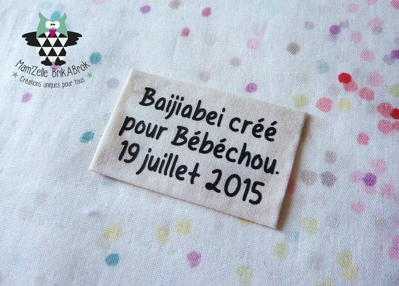 Etiquette Baijiabei Chantal C 060815