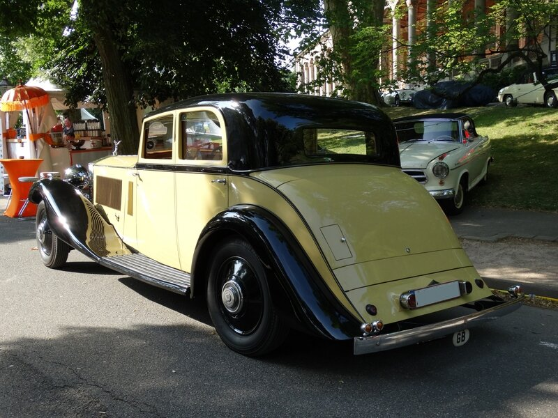 ROLLS ROYCE Phantom II Sports Saloon 1933 Baden Baden (2)