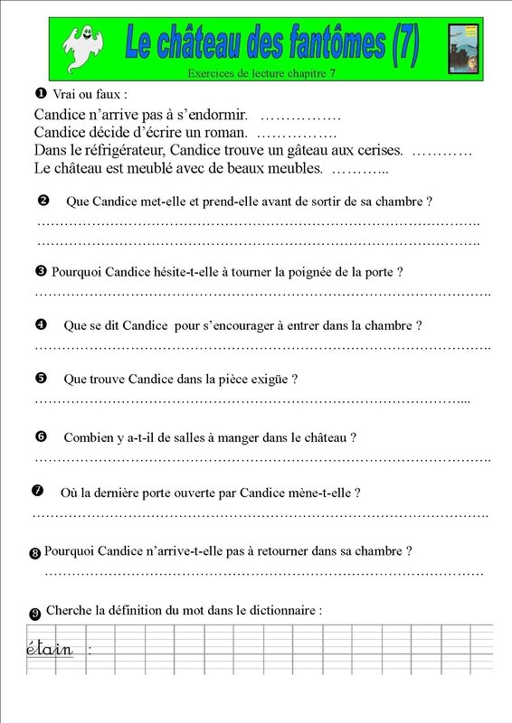 exercices chapitre 7