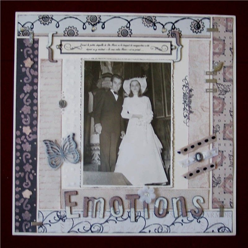 album mariage emotions