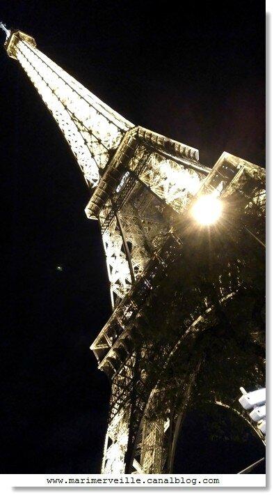 Tour Eiffel paris décembre 2015