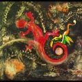 Fée salamandre 3 450 cadre