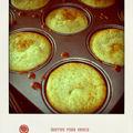 Muffins au yaourt poire et vanille