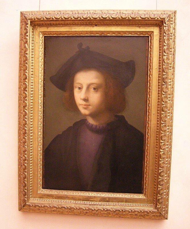 Domenico Puligo - Portrait de Pietro Carnesecchi ca 1527