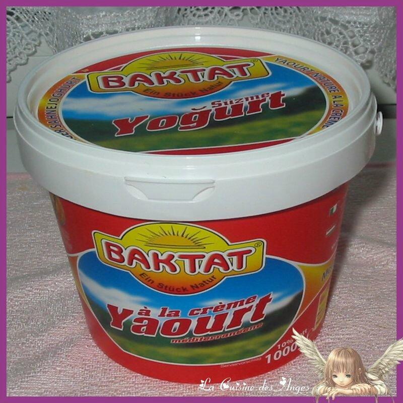 yaourt turc