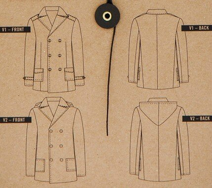 Thread Theory - Golstream Peacoat