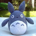 Explications du totoro au crochet