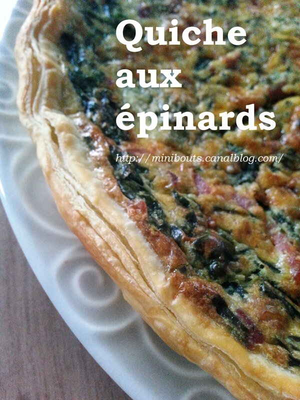 quiche épinards 2