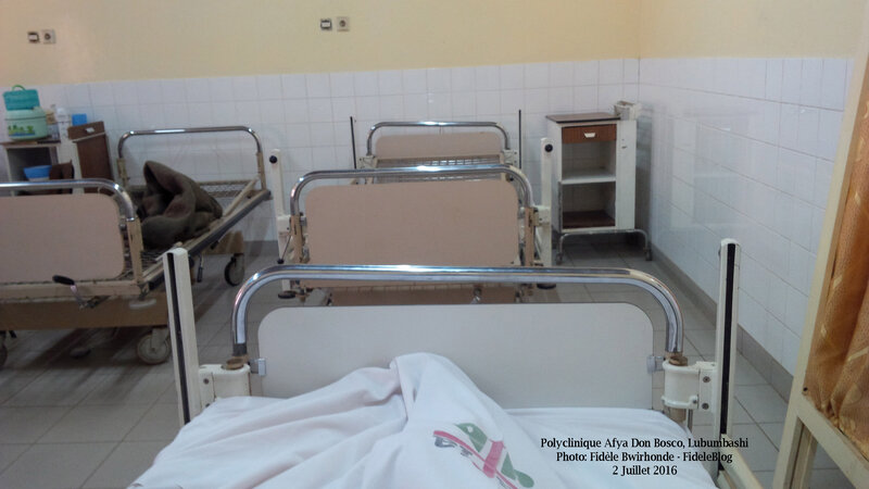 Polyclinique Afya Lubumbashi - *Photo: FideleBlog 2016