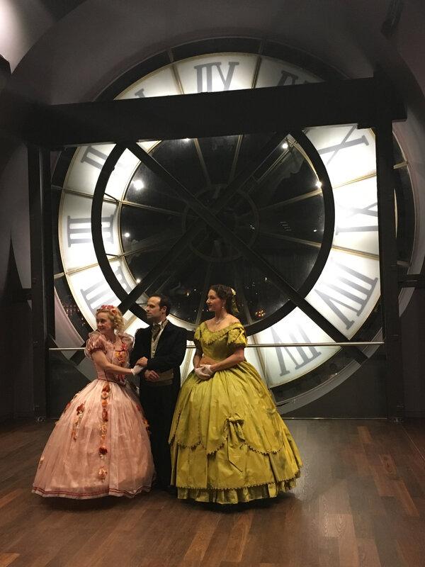AU musee d'orsay, la grande horloge