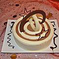 Gâteau 3 anneaux au chocolat