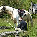balade à cheval médiévale - Abbaye de Hambye (274)