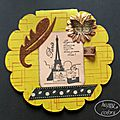 Carte paris tour eiffel