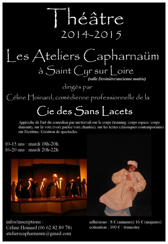 Affiche tract ateliers 14-15