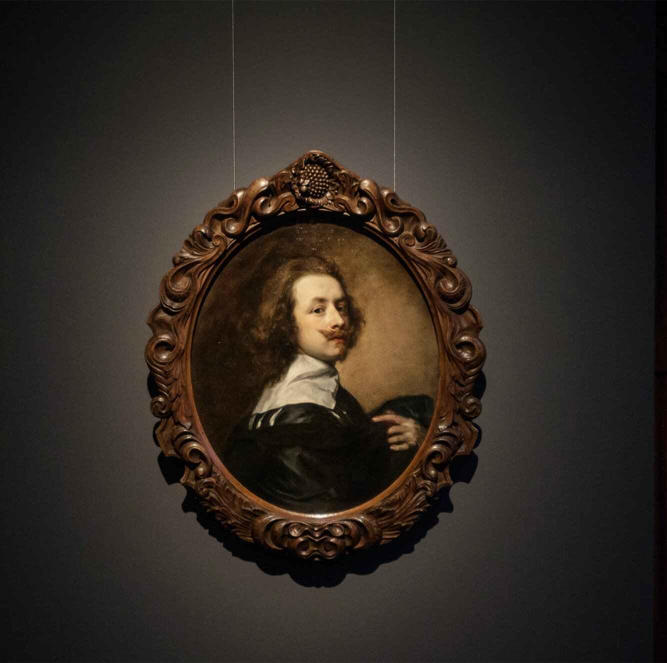 Rubens House exhibits recently discovered self-portrait by Anthony van Dyck