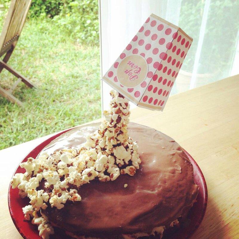 gravity cake pop