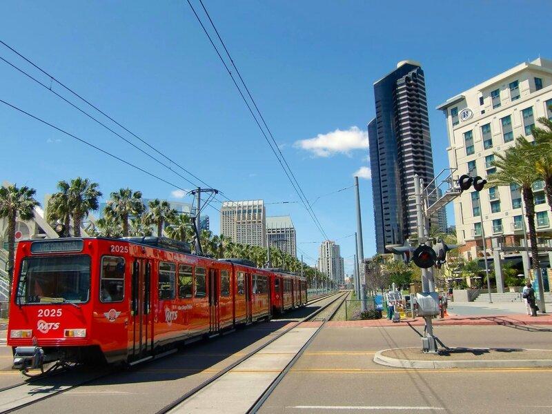 City-Train-San-Diego-California