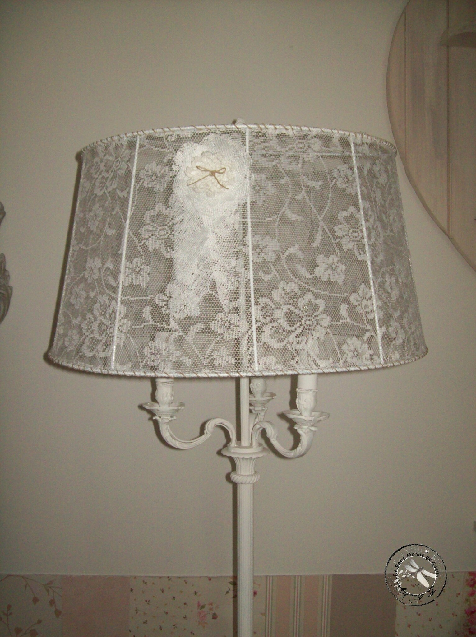 La boutique de ga lle for Lampadaire shabby