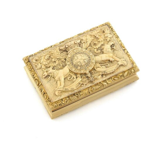 £100,000 at Bonhams Waterloo Sale for gold box presented to colourful British commander