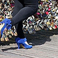 Chaussures, Cadenas Pont des arts_8685