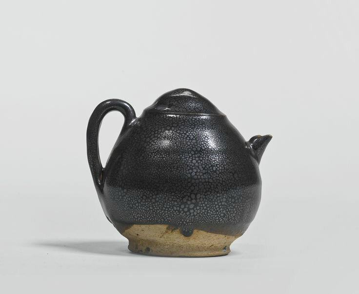 A rare black-glazed 'Oil-Spot' ewer, Northern Song - Jin dynasty