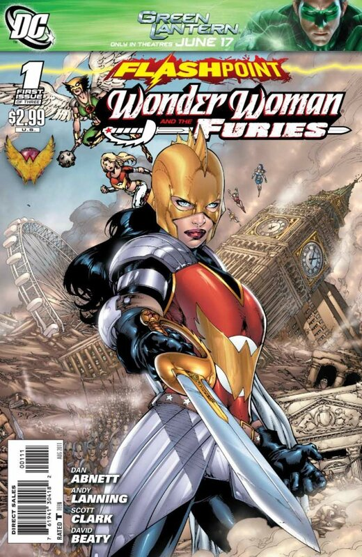 flashpoint wonder woman and the furies 1