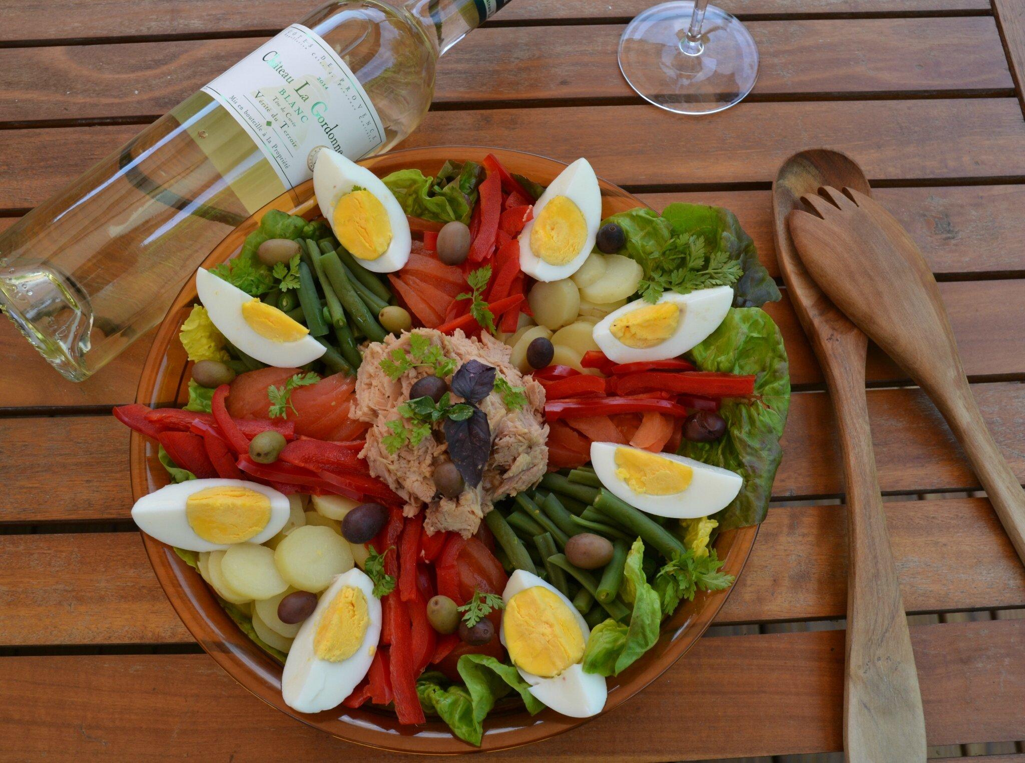 Salade façon Niçoise