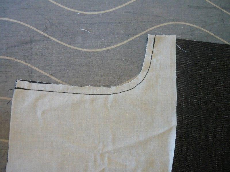 doublure et montage de poche italienne sur un jean la couture de troipom. Black Bedroom Furniture Sets. Home Design Ideas