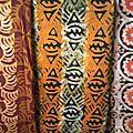 Pagnes batik à coudre