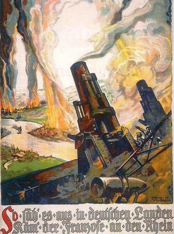 affiche propagande allemande 1ère GM 2