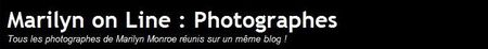 Marilyn on line: Photographes