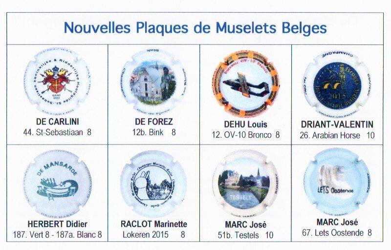 Plaques Belges