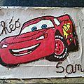 Gâteau car's