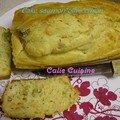Cake saumon*olive*citron