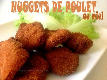 nuggets de poulet au miel blog