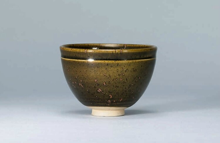 A Dangyangyu brown-glazed bowl, Northern Song-Jin Dynasty (960-1234)