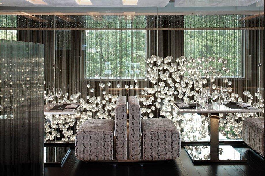 enti rement sur mesure luminaire bulles de verre de venise cr ation artisanale de. Black Bedroom Furniture Sets. Home Design Ideas