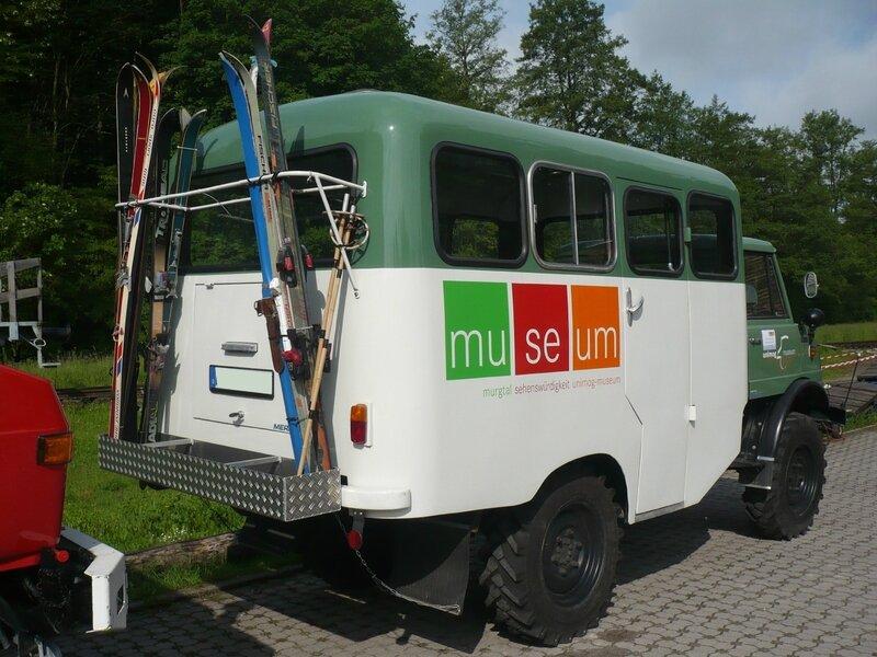 UNIMOG type 416A bus 1965 Gaggenau (2)