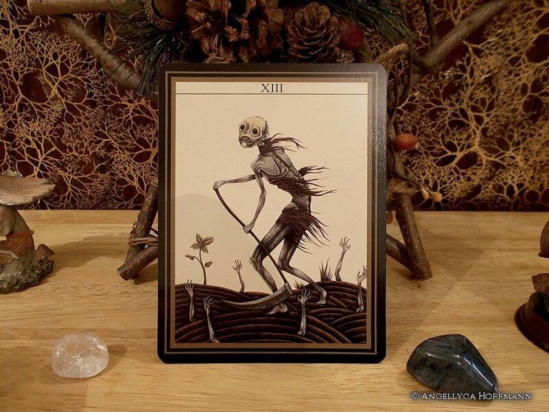 Le Tarot Noir 3 - Blog ésotérique Samhain Sabbath